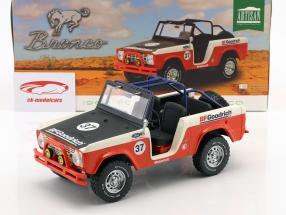 Ford Baja Bronco année de construction 1966 rouge / blanc / noir 1:18 Greenlight
