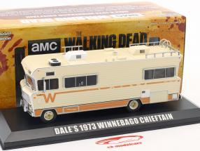Dale's Winnebago Chieftain año de construcción 1973 series de televisión The Walking Dead (puesto 2010) beige 1:43 Greenlight