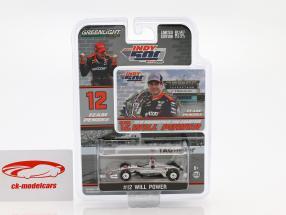 Will Power Chevrolet #12 vencedor Indy 500 campeão Indycar Series 2018 Team Penske 1:64 Greenlight