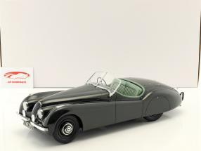 Jaguar XK 120 OTS año de construcción 1948-1954 verde oscuro 1:12 Matrix