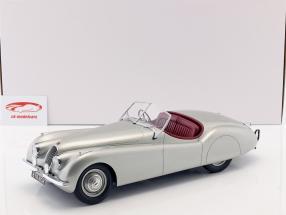 Jaguar XK 120 OTS Opførselsår 1948-1954 sølv 1:12 Matrix