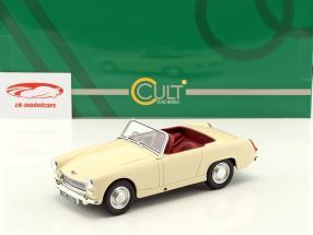 Austin Healey Sprite MK2 Opførselsår 1961 creme hvid 1:18 Cult Scale