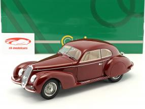 Alfa Romeo 2500S Berlinetta Touring año de construcción 1939 oscuro rojo 1:18 Cult Scale