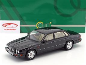 Jaguar XJR X300 year 1995 black metallic 1:18 Cult Scale