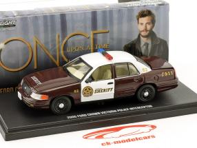 Ford Crown Victoria Police Interceptor 2005 TV-Serie Storybrooke - Once upon a time 1:43 Greenlight