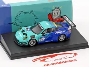 Porsche 911 (991) GT3 R #44 9de 24h Nürburgring 2018 Falken Motorsports 1:64 Spark