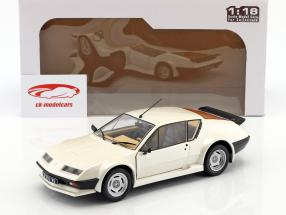 Renault Alpine A310 Pack GT anno di costruzione 1983 bianco 1:18 Solido
