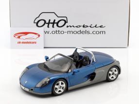 Renault Spider year 1998 sports blue metallic 1:18 OttOmobile