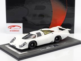 Porsche 917 LH Plain Body Version 1969 white 1:18 BBR
