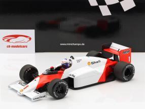 Alain Prost McLaren MP4/2C #1 verdensmester formel 1 1986 1:18 Minichamps
