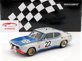 Ford Capri RS 2600 #22 gagnant 24h Spa 1971 Glemser, Soler-Roig 1:18 Minichamps