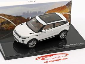Land Rover Range Rover Evoque ano de construção 2011 fuji branco 1:43 Ixo