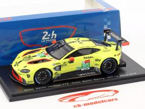 Aston Martin Vantage GTE #95 24h LeMans 2018 Thiim, Sörensen, Turner 1:43 Spark