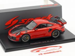 Porsche 911 (991 II) GT2 RS année de construction 2018 gardes rouge 1:43 Spark