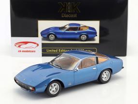 Ferrari 365 GTC/4 Opførselsår 1971 blå metallisk 1:18 KK-Scale