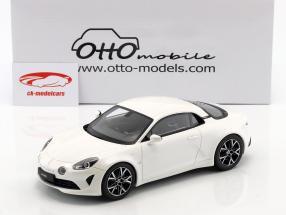 Alpine A110 Pure year 2018 white 1:18 OttOmobile