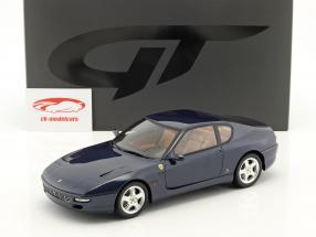 Ferrari 456 GT année de construction 1992 bleu foncé 1:18 GT-Spirit