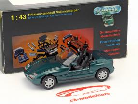 BMW Z1 E30 (Z) Roadster année de construction 1989 vert foncé métallique 1:43 Schabak