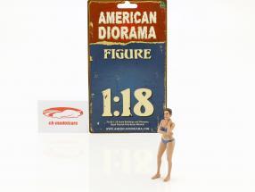 Calendar Girl december in bikini 1:18 American Diorama