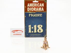 Calendar Girl settembre in bikini 1:18 American Diorama