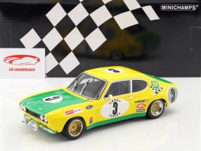 Ford Capri RS 2600 #3 2nd 24h Spa 1972 Birrel, Bourgoignie 1:18 Minichamps