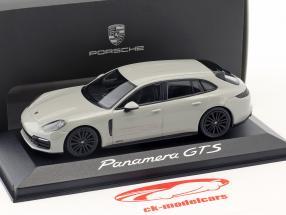 Porsche Panamera Sport Turismo GTS Opførselsår 2017 kridt grå 1:43 Minichamps