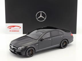 Mercedes-Benz AMG E 63 S 4Matic  Edition 1 Baujahr 2016 designo noite black magno 1:18 GT Espírito