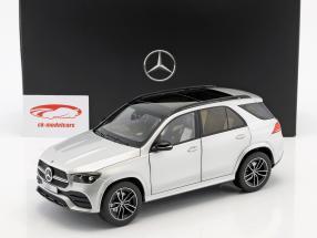 Mercedes-Benz GLE (V167) Opførselsår 2018 iridium sølv 1:18 Norev