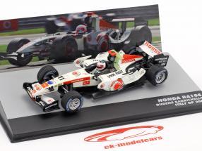 Rubens Barrichello Honda RA106 #11 Italy GP formula 1 2006 1:43 Altaya