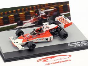 E. Fittipaldi McLaren M23 #5 World Champion Spain GP formula 1 1974 1:43 Altaya