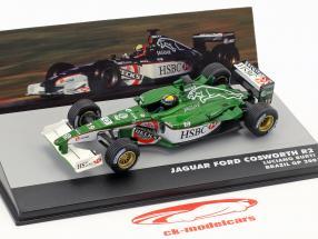 Luciano Burti Jaguar R2 #19 Brasilien GP Formel 1 2001 1:43 Altaya