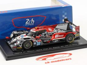 Oreca 07 #37 8th 24h LeMans 2018 Jackie Chan DC Racing Jaafar, Jeffri, Tan 1:43 Spark