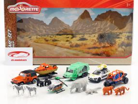 Big Explorer Theme Set 14 stykker Gift Pack 1:64 Majorette