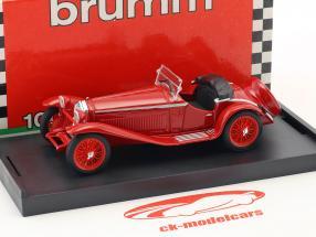Alfa Romeo 1750 GS Zagato Bouwjaar 1931 rood 1:43 Brumm