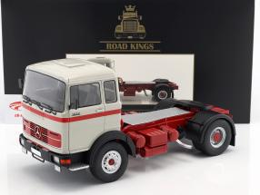 Mercedes-Benz LPS 1632 Traktor Opførselsår 1969 grå / rød 1:18 Road Kings