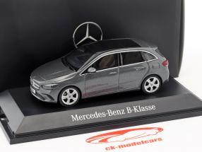 Mercedes-Benz B-Class (W247) year 2018 mountain grey 1:43 Herpa
