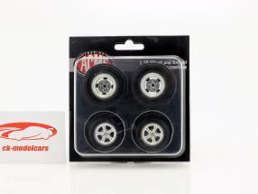 Gasser Dragster roue et pneu Set 1:18 GMP