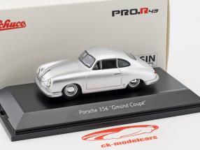 Porsche 356 Gmünd Coupe zilver 1:43 Schuco
