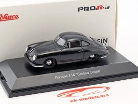 Porsche 356 Gmünd Coupe schwarz 1:43 Schuco