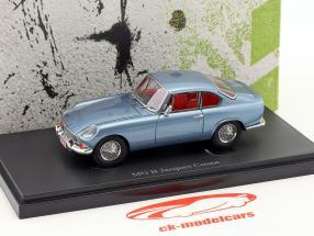 MG B Jacques Coune Baujahr 1964 blau metallic 1:43 AutoCult