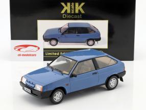 Lada Samara année de construction 1984 bleu 1:18 KK-Scale
