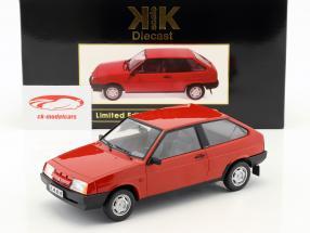 Lada Samara year 1984 red 1:18 KK-Scale