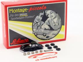 Porsche 356 Coupe costruzione kit per il piccolo auto sportive meccanico 1:90 Schuco Piccolo