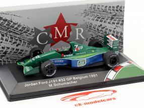 Michael Schumacher Jordan Ford 191 #32 F1 début Belgique GP formule 1 1991 1:43 CMR