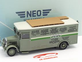NAG Büssing Race Truck Auto Union green / white 1:43 Neo