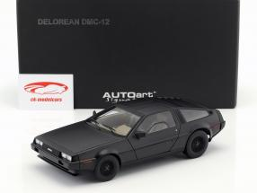 DeLorean DMC-12 Année 1981 tapis noir 1:18 AUTOart