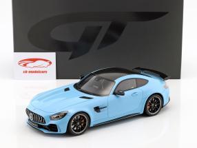 Mercedes-Benz AMG GTR Baujahr 2017 china blau 1:18 GT-Spirit