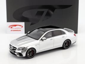 Mercedes-Benz AMG E 63 S 4MATIC+ Baujahr 2017 iridium silber 1:18 GT-Spirit