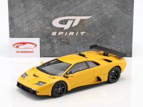 Lamborghini Diablo GTR Opførselsår 1999 gul 1:18 GT-Spirit
