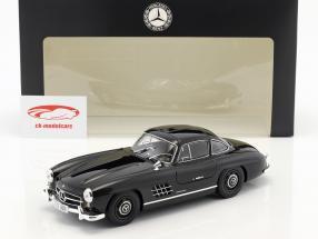 Mercedes-Benz 300 SL Gullwing (W 198) année de construction 1954 noir 1:18 Minichamps